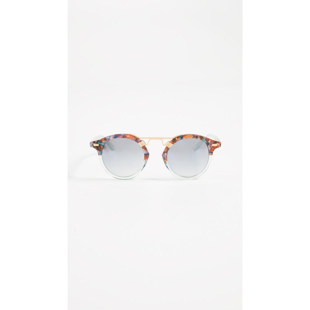 クルー Krewe レディース メガネ・サングラス【St. Louis Sunglasses】Confetti/Marine