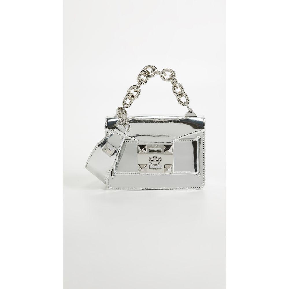 サラ Salar レディース バッグ ショルダーバッグ【Gaia Crossbody Bag】Silver