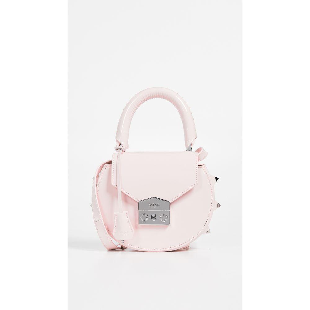 サラ Salar レディース バッグ ショルダーバッグ【Mimi Gloss Crossbody Bag】Pink