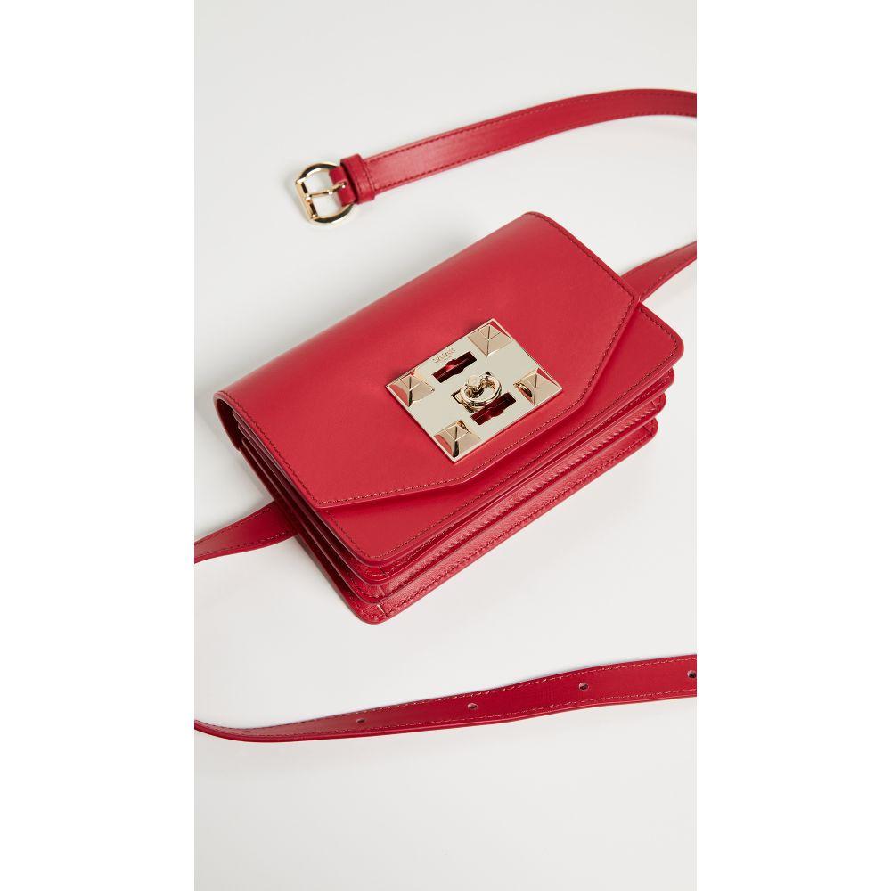 サラ Salar レディース バッグ ボディバッグ・ウエストポーチ【Sylvie Belt Bag】Red