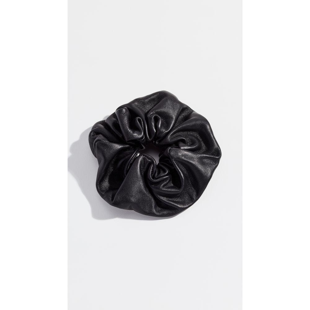 ジェニファーベア Jennifer Behr レディース ヘアアクセサリー【Leather Scrunchie】Black