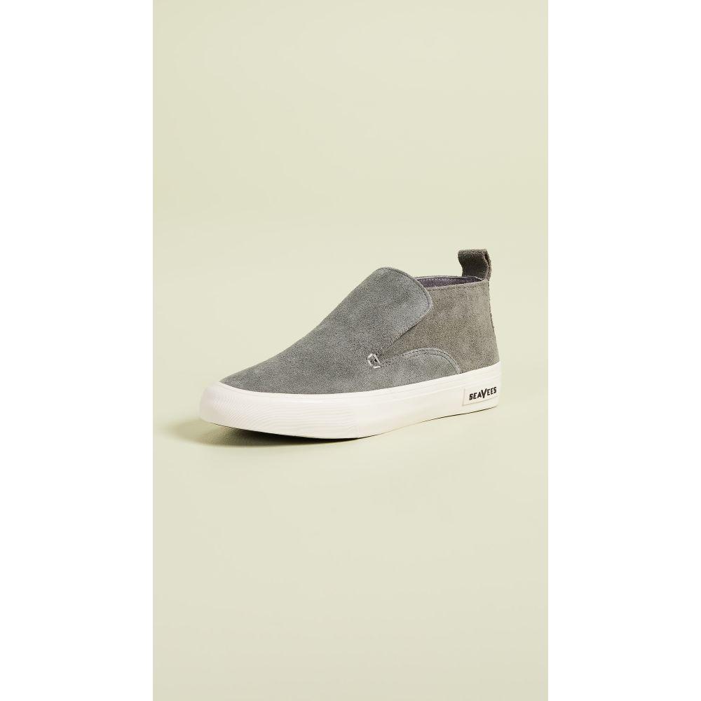 シービーズ SeaVees レディース シューズ・靴 スリッポン・フラット【Huntington Middie Sneakers】Greyboard