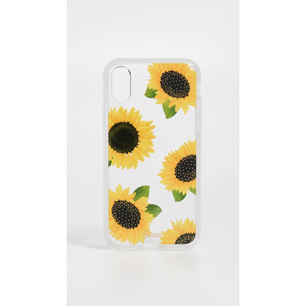 ソニックス Sonix レディース iPhone (X)ケース【Sunflower iPhone X Case】Sunflower