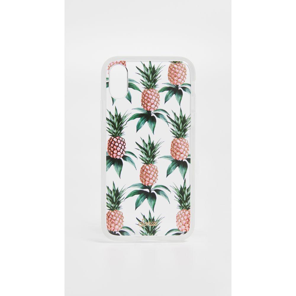 ソニックス Sonix レディース iPhone (X)ケース【Pink Pineapple iPhone X Case】Pink Pineapple