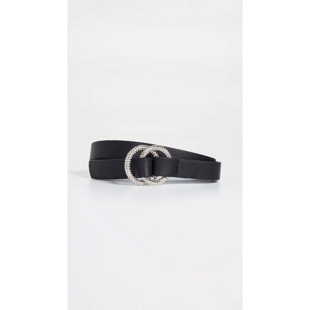 ビーローザベルト B-Low The Belt レディース ベルト【Tumblet Luxe Belt】Black/Silver