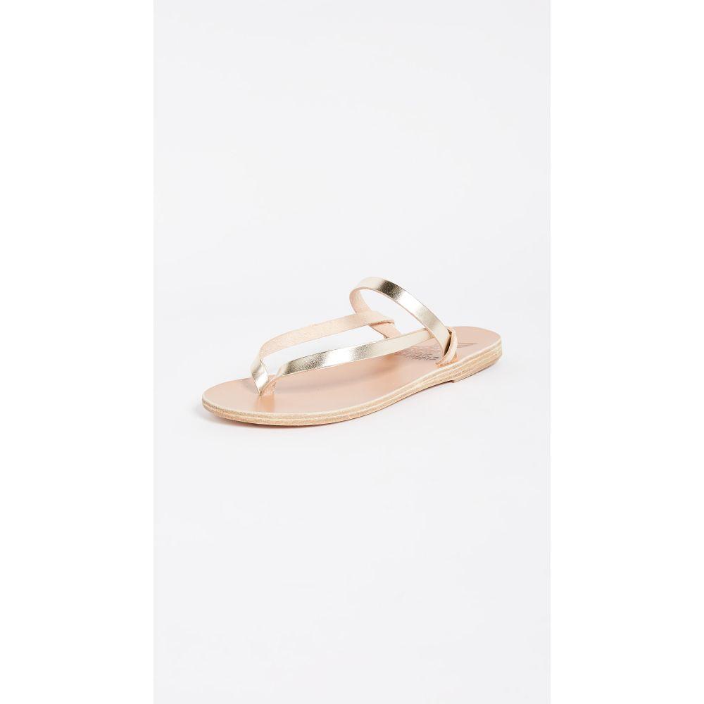 エンシェント グリーク サンダルズ Ancient Greek Sandals レディース シューズ・靴 サンダル・ミュール【Mirsini Thong Sandals】Platinum