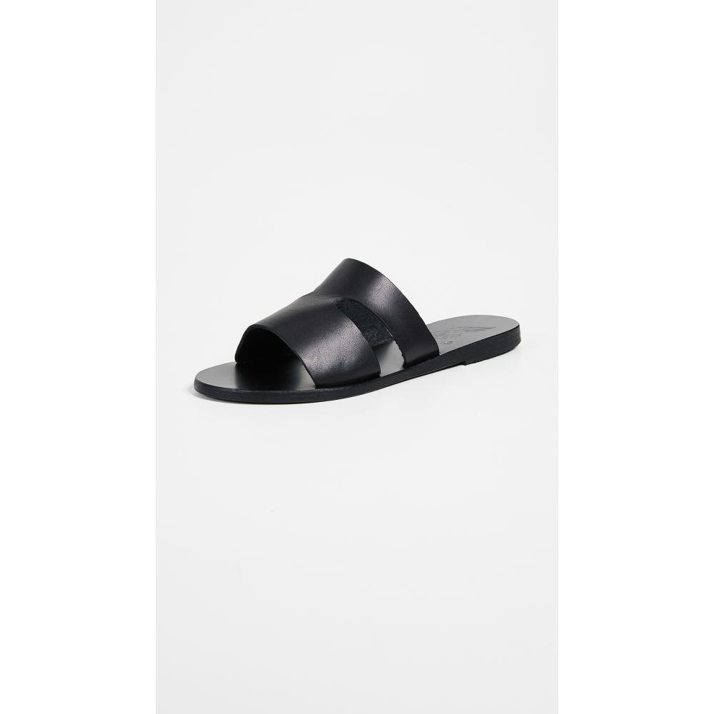 エンシェント グリーク サンダルズ Ancient Greek Sandals レディース シューズ・靴 サンダル・ミュール【Apteros Slides】Black