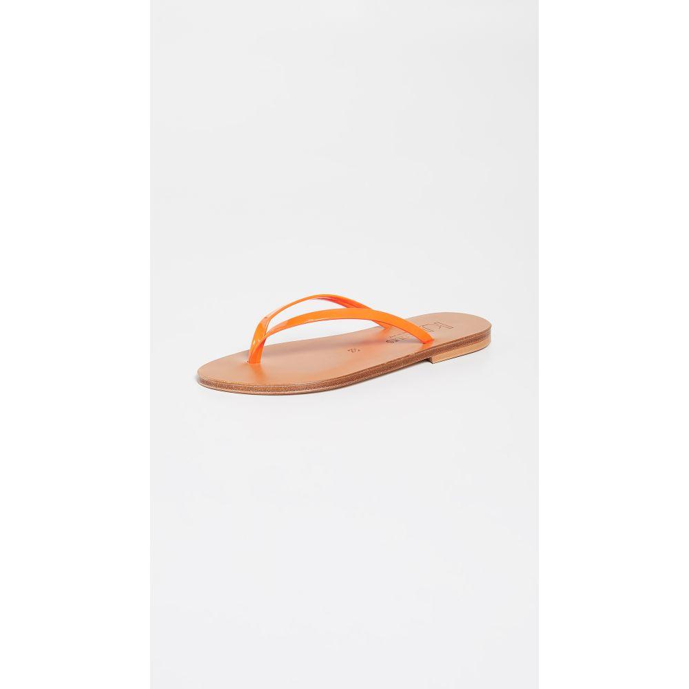 カー ジャック K. Jacques レディース シューズ・靴 ビーチサンダル【Venise Flip Flops】Fluo Orange