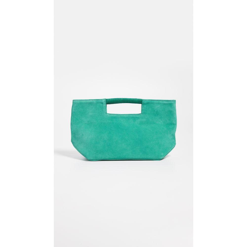 オリベベ Oliveve レディース バッグ クラッチバッグ【Ella Wrapped Handle Clutch】Emerald