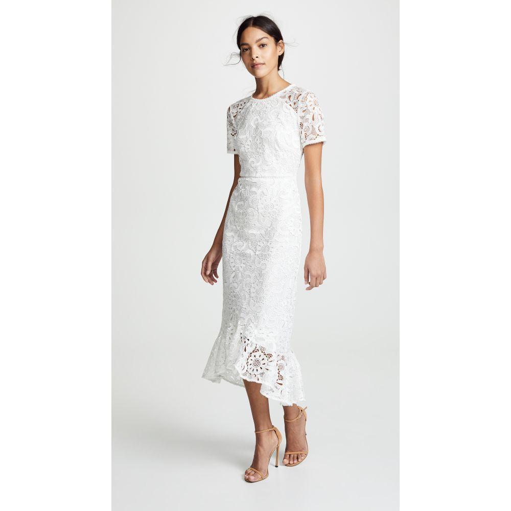 ショシャーナ Shoshanna レディース ワンピース・ドレス ワンピース【Edgecomb Dress】Ivory