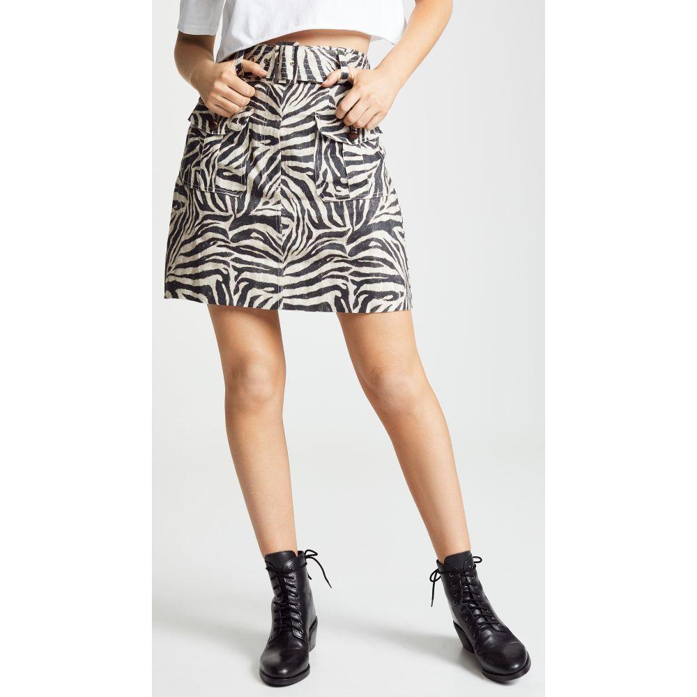 ジマーマン Zimmermann レディース スカート ミニスカート【Corsage Safari Miniskirt】Zebra