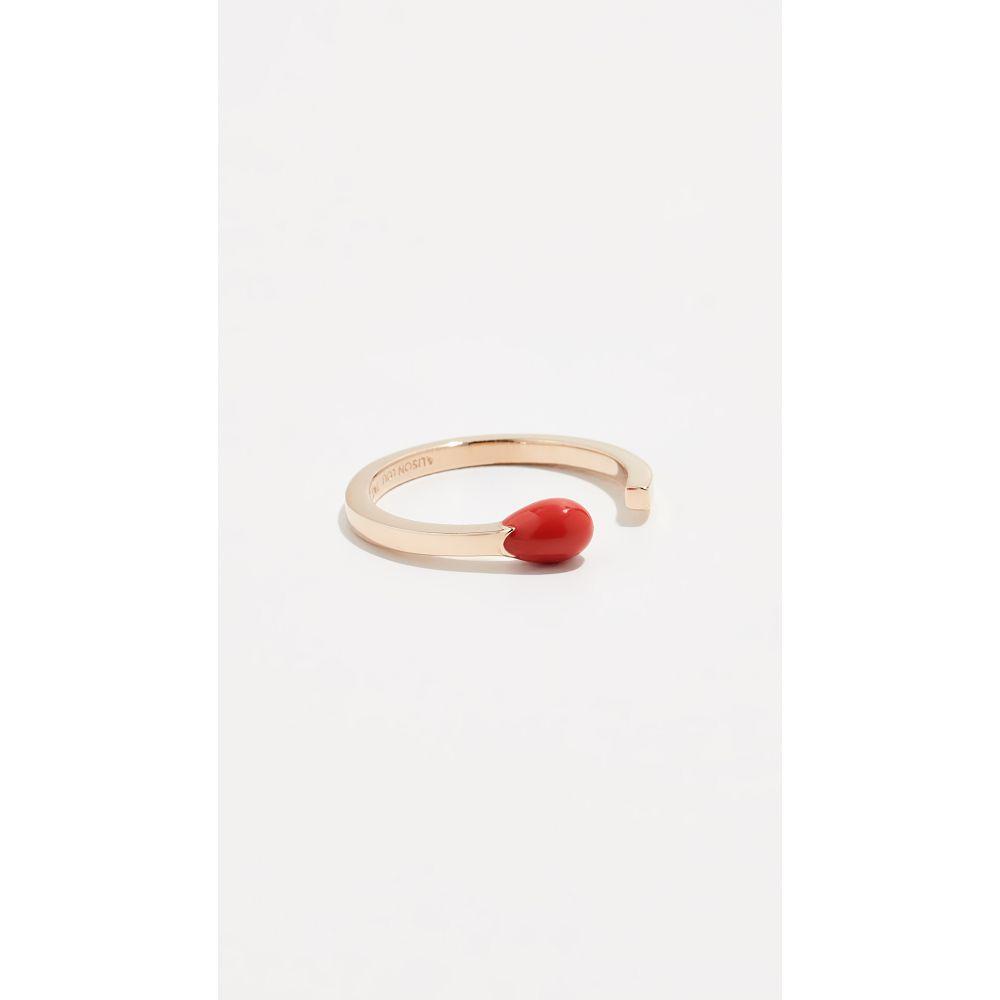 アリソン ルー Alison Lou レディース ジュエリー・アクセサリー 指輪・リング【Match Stick Ring】Tomato
