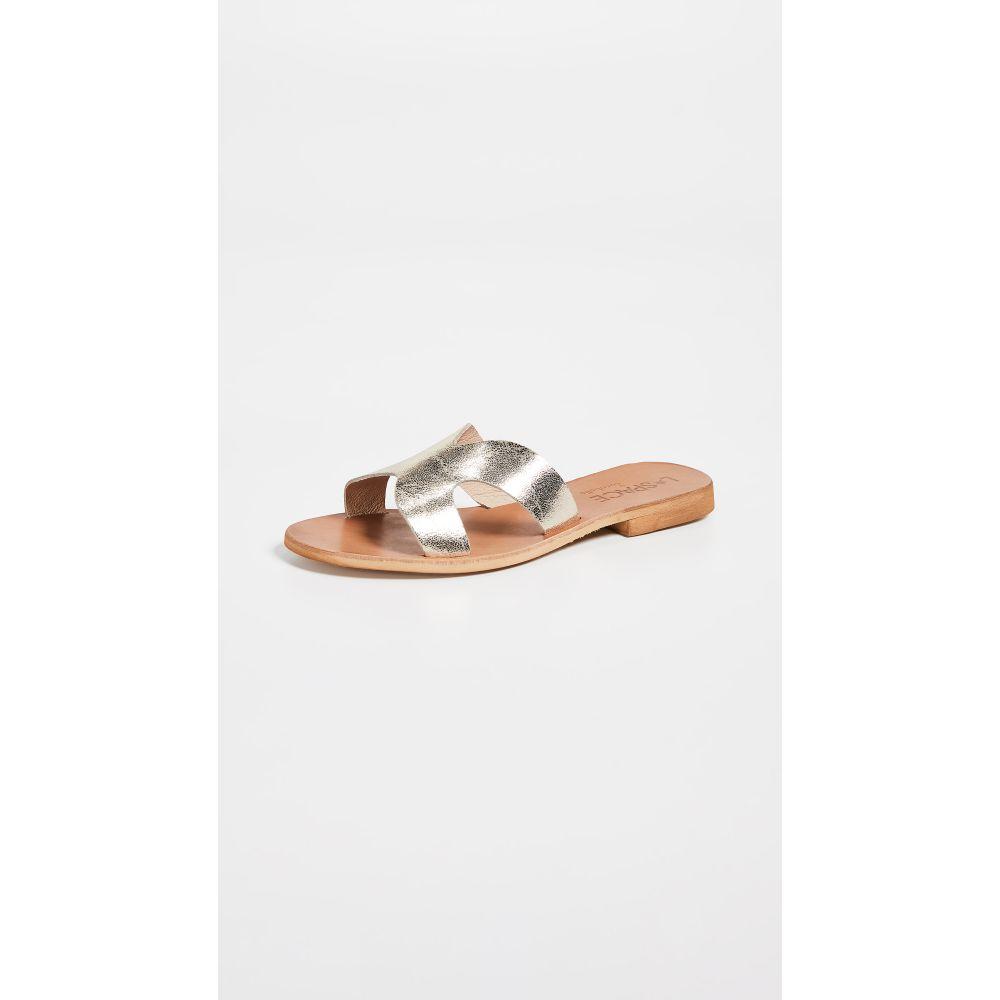 ココベル Cocobelle レディース シューズ・靴 サンダル・ミュール【x L*Space Los Slide Sandals】Antique Gold