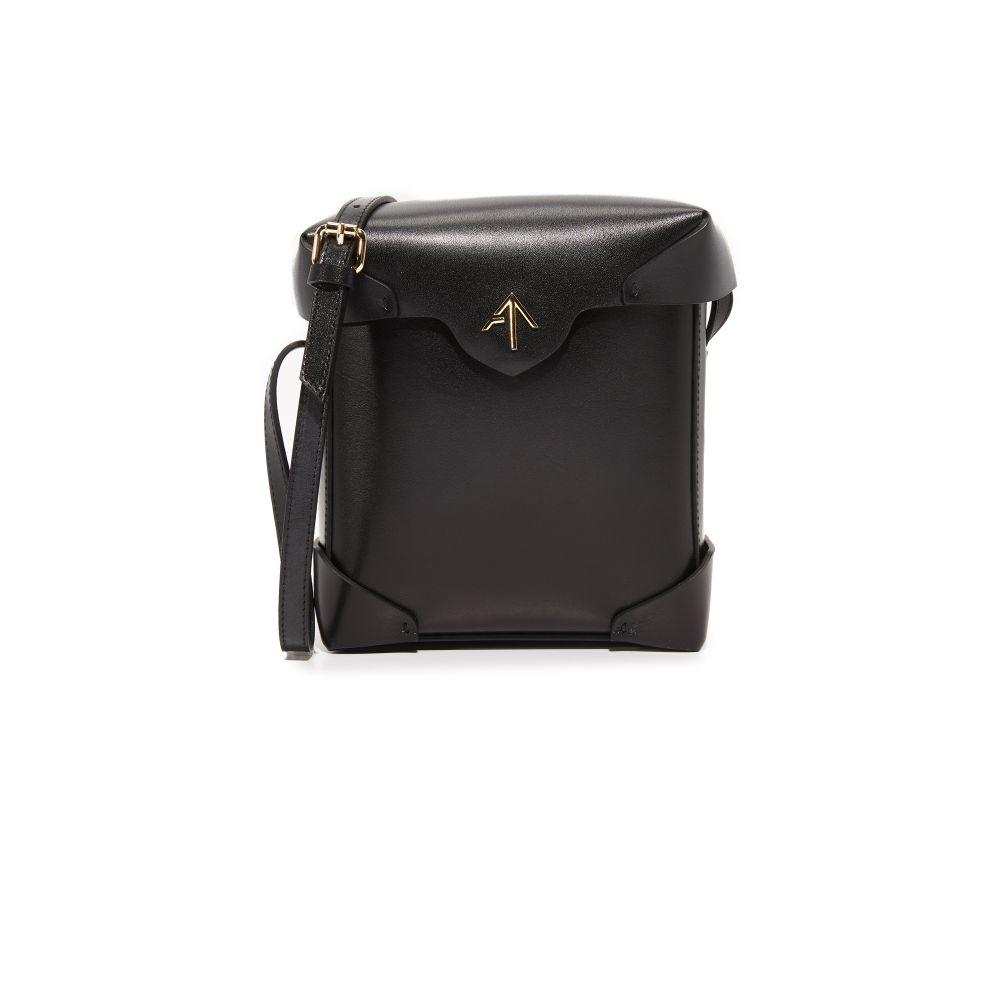 マニュ アトリエ MANU Atelier レディース バッグ ショルダーバッグ【Mini Pristine Box Bag】Black