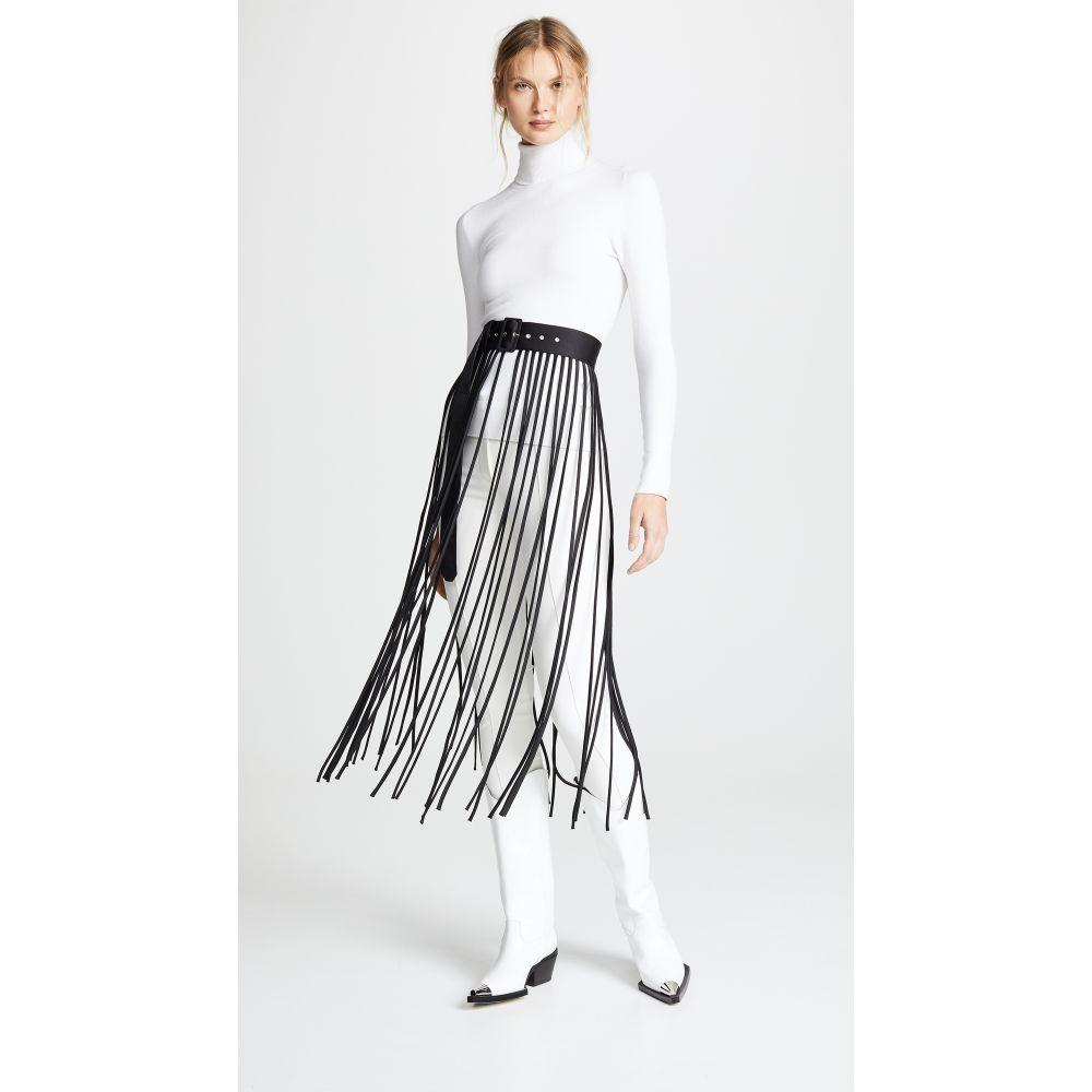 レイチェル コーミー Rachel Comey レディース ベルト【Spaghetti Belt Skirt】Black