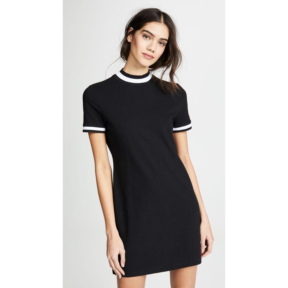 アレキサンダー ワン alexanderwang.t レディース ワンピース・ドレス ワンピース【High Twist Short Sleeve Dress】Black