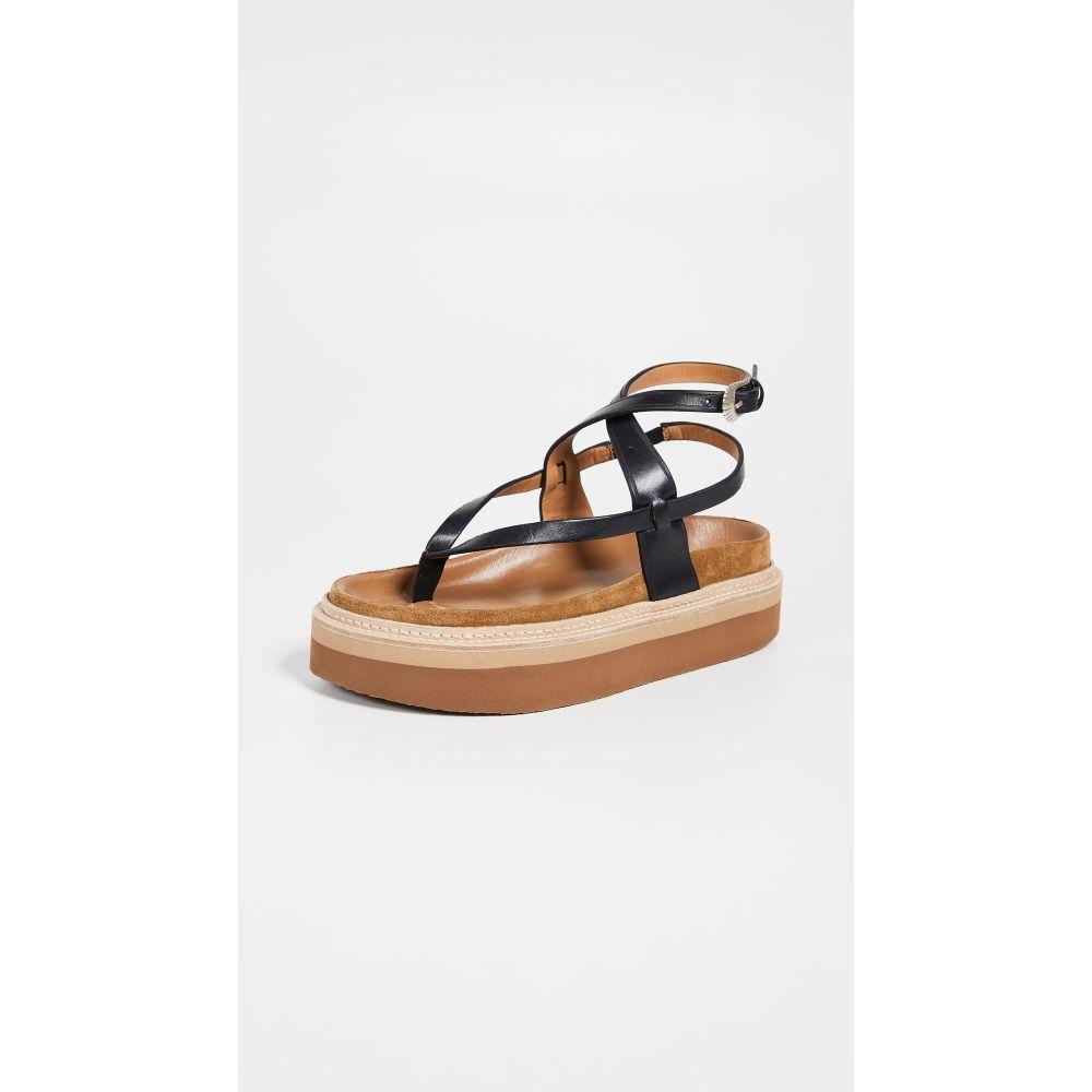 イザベル マラン Isabel Marant レディース シューズ・靴 サンダル・ミュール【Esely Platform Sandals】Black