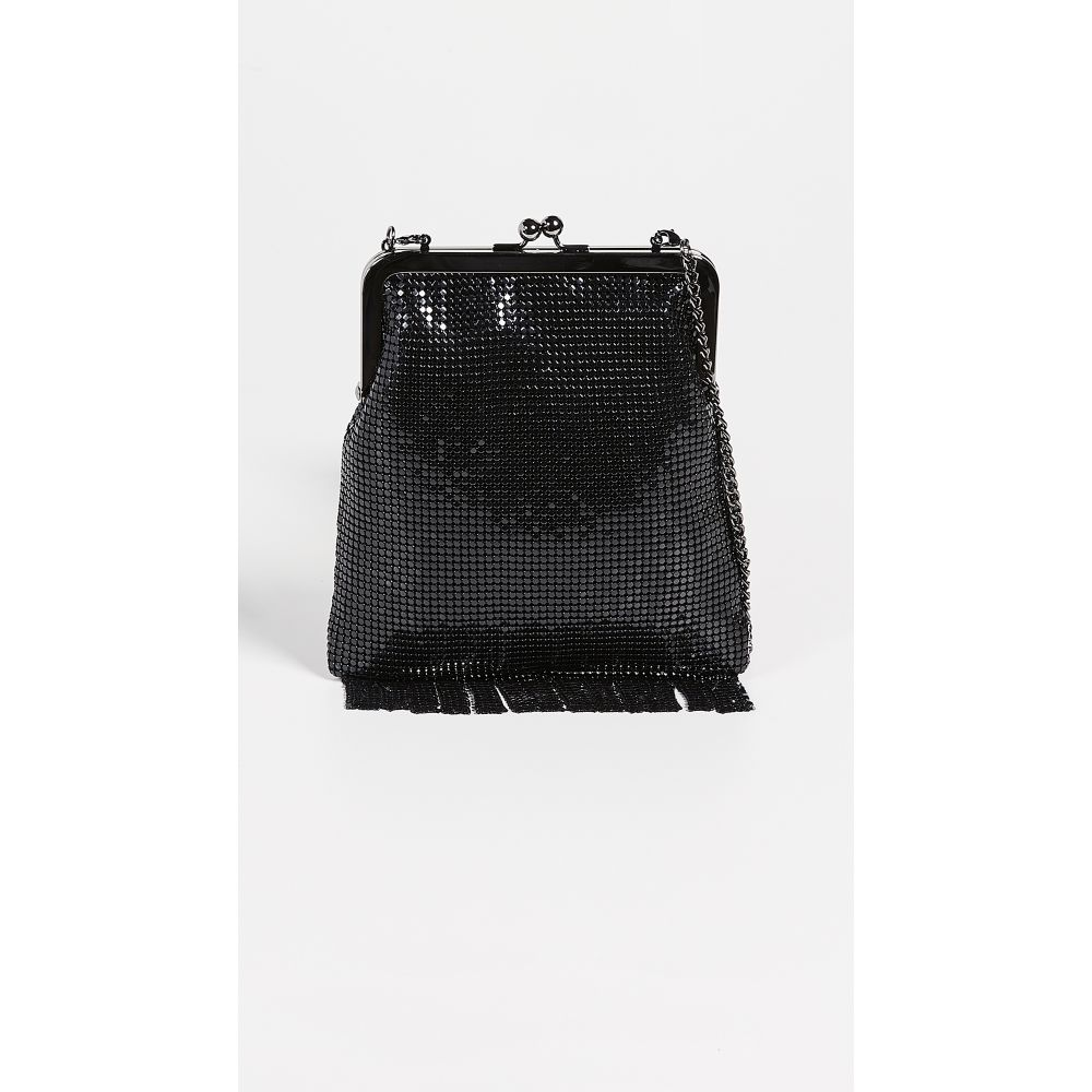 ホワイティング&デイビス Whiting & Davis レディース バッグ ショルダーバッグ【Gibson Girl Framed Crossbody Bag】Black