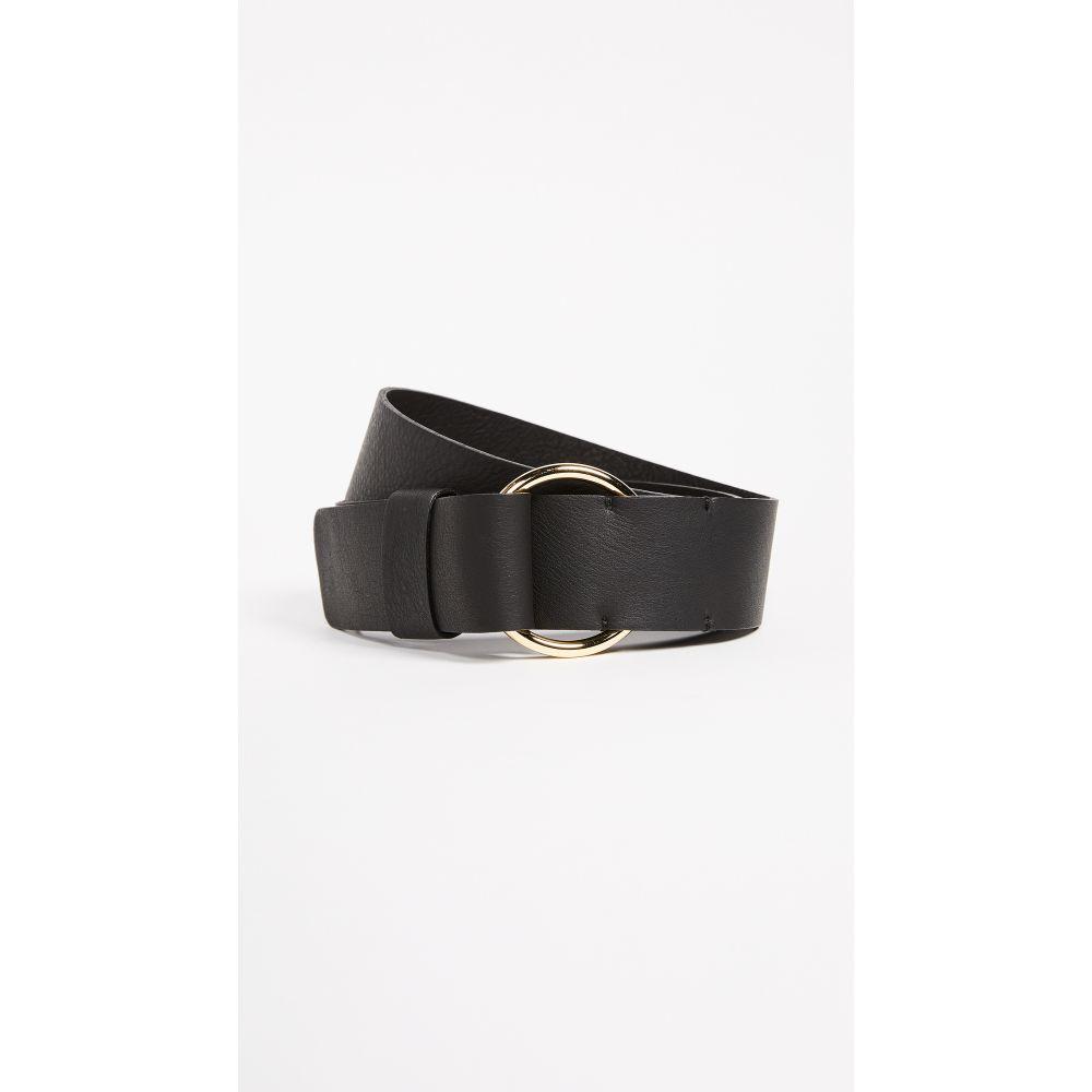 ビーローザベルト B-Low The Belt レディース ベルト【Miller Belt】Black/Gold