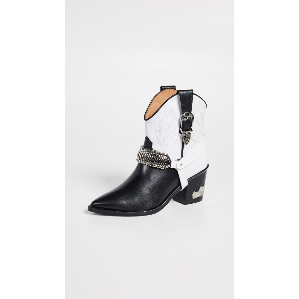 トーガ Toga Pulla レディース シューズ・靴 ブーツ【Western Boots】Black/White