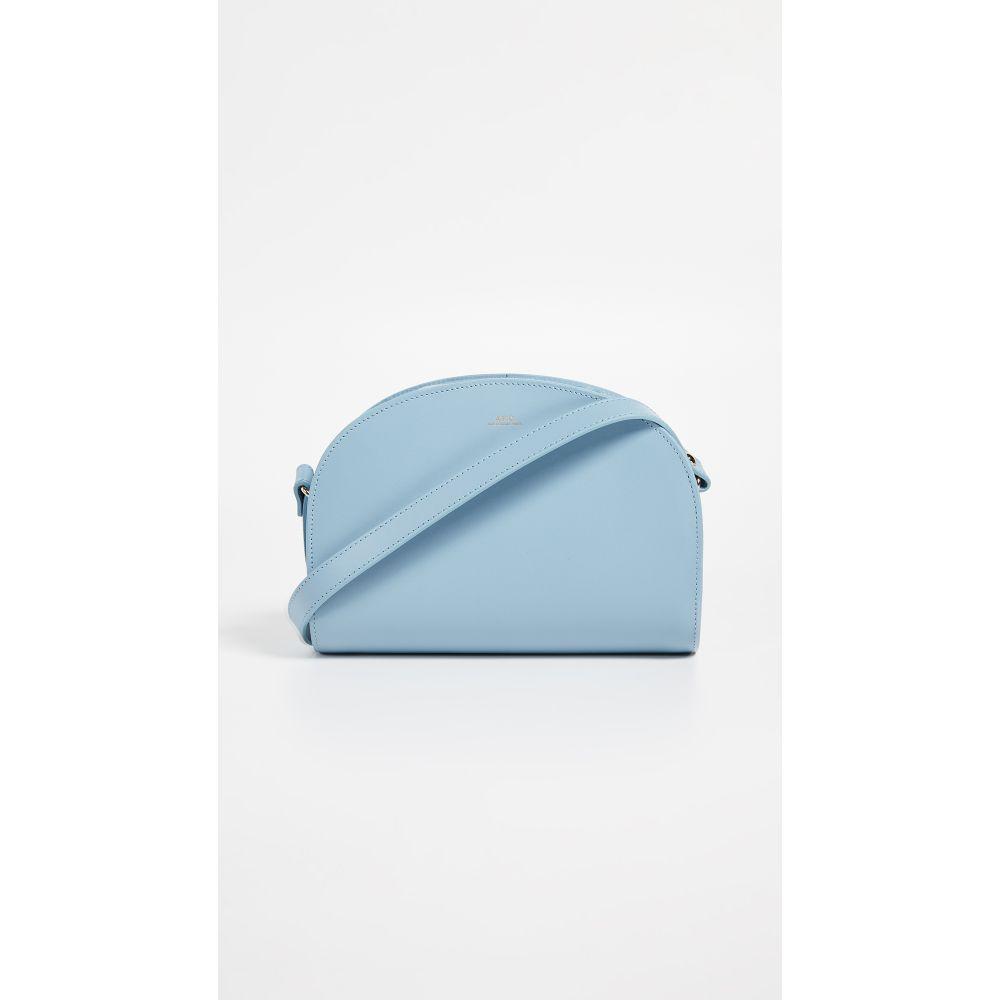 アーペーセー A.P.C. レディース バッグ ショルダーバッグ【Half Moon Bag】Bleu