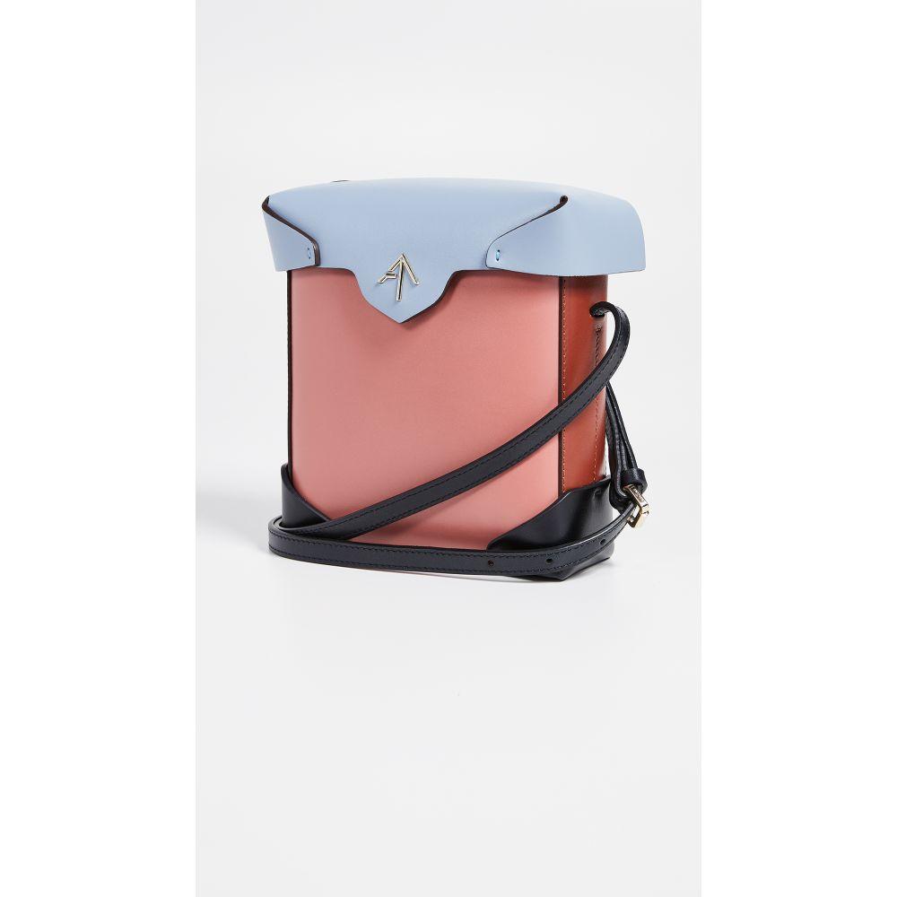 マニュ アトリエ MANU Atelier レディース バッグ ショルダーバッグ【Mini Combo Pristine Box Bag】Blossom Pink/Blue/Redbole