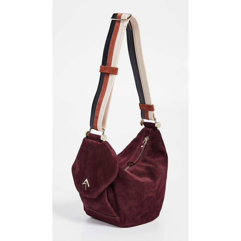 マニュ アトリエ MANU Atelier レディース バッグ ショルダーバッグ【Hobo Fernweh Convertible Shoulder Bag】Burgundy
