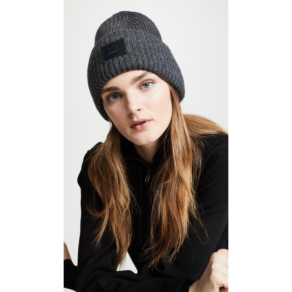 アクネ ストゥディオズ Acne Studios レディース 帽子【Pansy N Face Hat】Charcoal Melange