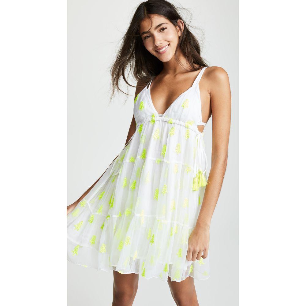 テッセラ Tessora レディース 水着・ビーチウェア ビーチウェア【Sabrina Dress】Chartreuse