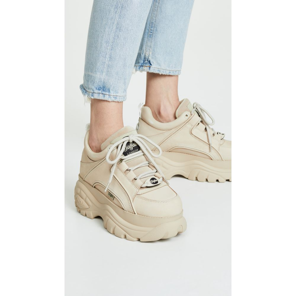 Sneaker Buffalo 1339 in nubuck crema