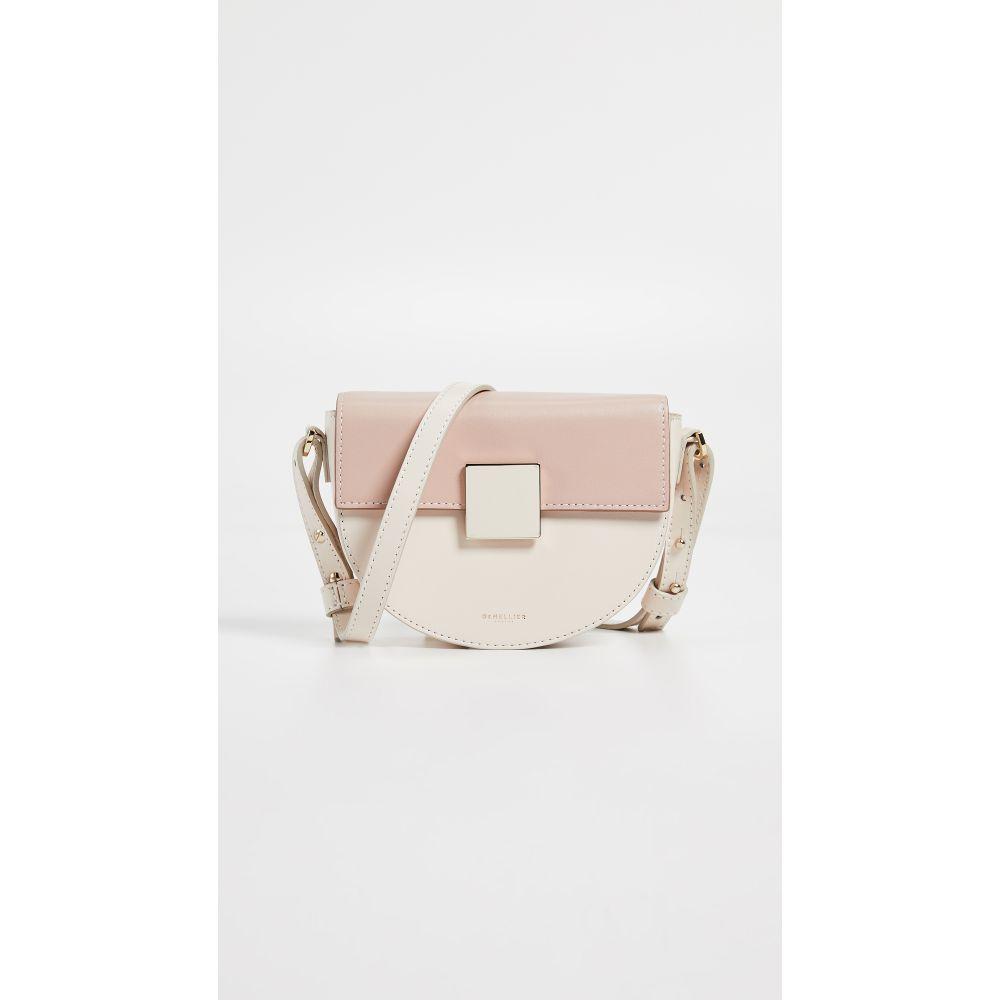 デメリエー DeMellier レディース バッグ【The Mini Oslo Bag】Cream/Blush