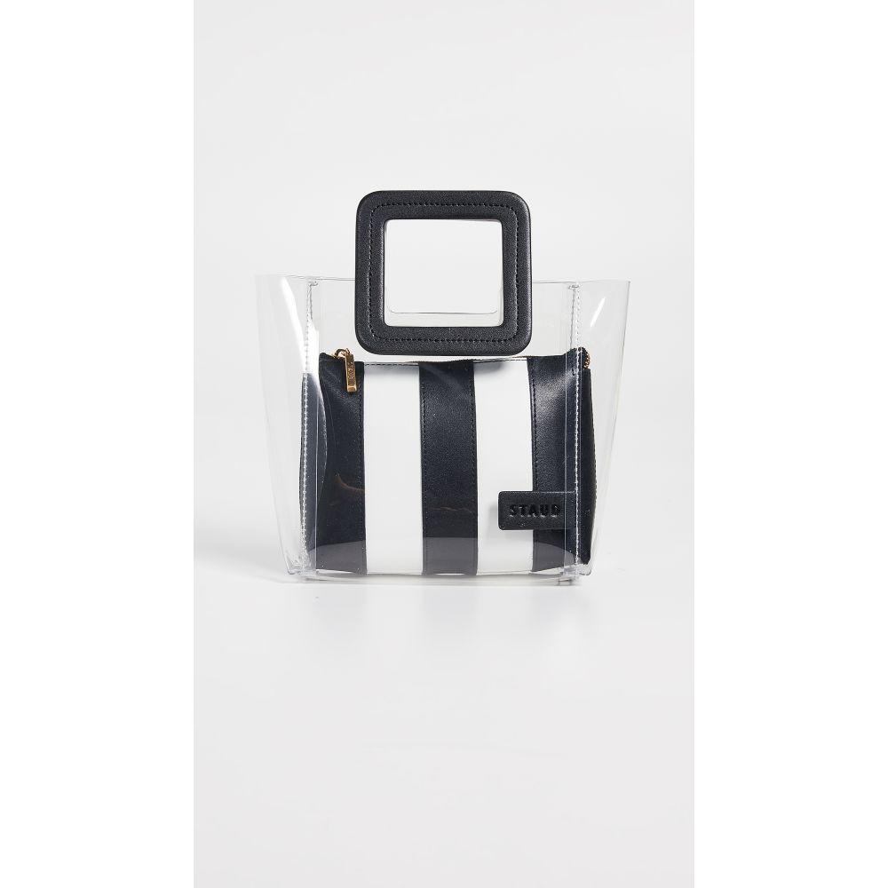 スタッド STAUD レディース バッグ トートバッグ【Mini Shirley Bag】Clear/Black/White