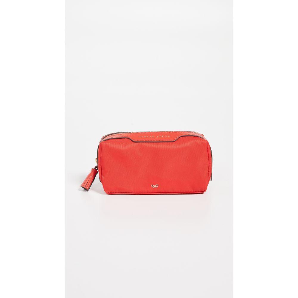 アニヤ ハインドマーチ Anya Hindmarch レディース ポーチ【Girlie Stuff Bag】Flame Red