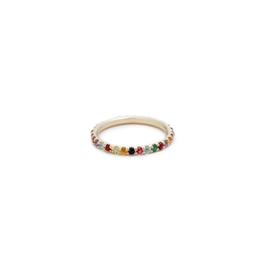 アリエルゴードンジュエリー Ariel Gordon Jewelry レディース ジュエリー・アクセサリー 指輪・リング【14k Candy Crush Band Ring】Gold/Multi