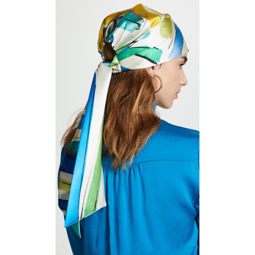 ユージニア キム Eugenia Kim レディース ヘアアクセサリー【Gigi Head Wrap】Green/Blue