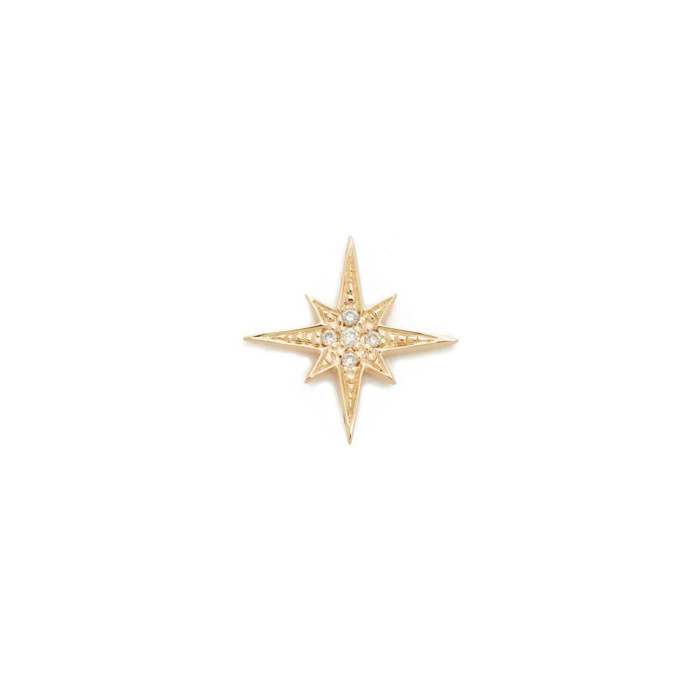 シドニーエヴァン Sydney Evan レディース ジュエリー・アクセサリー イヤリング・ピアス【Small Starburst Stud】Gold