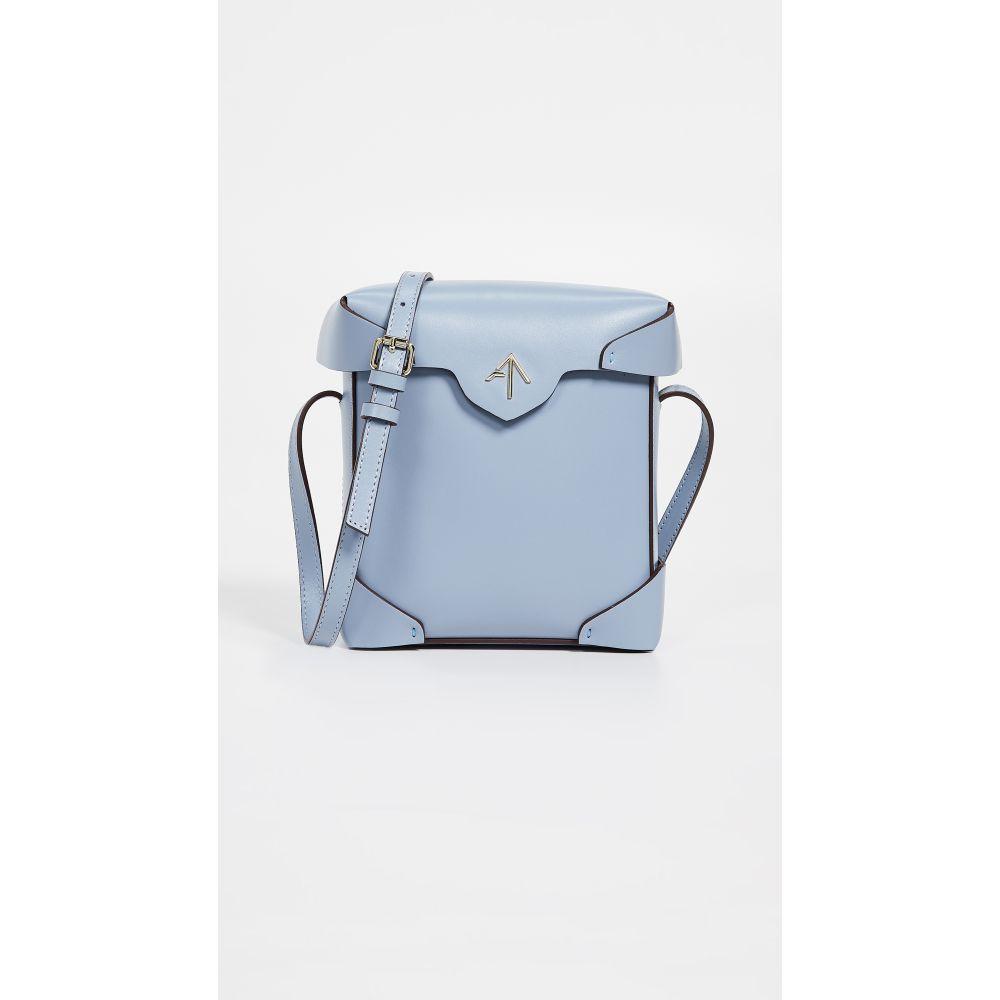 マニュ アトリエ MANU Atelier レディース バッグ ショルダーバッグ【Mini Pristine Box Bag】Ice Blue