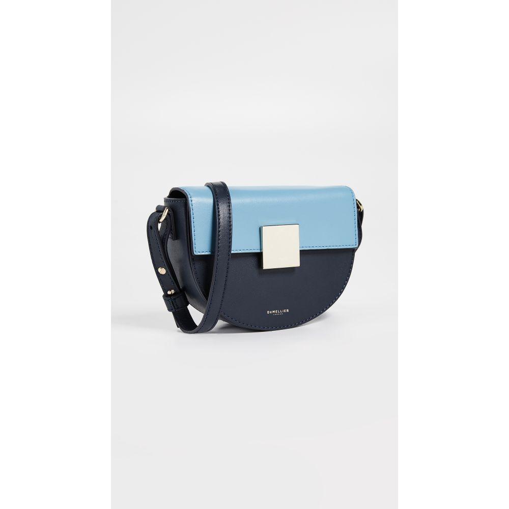 デメリエー DeMellier レディース バッグ【The Mini Oslo Bag】Navy/Steel Blue