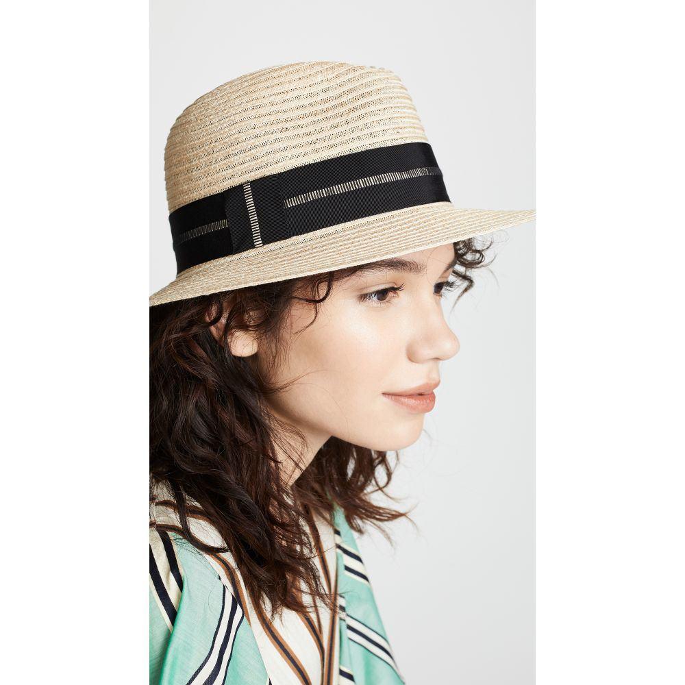 ユージニア キム Eugenia Kim レディース 帽子【Lillian Hat】Natural/Black