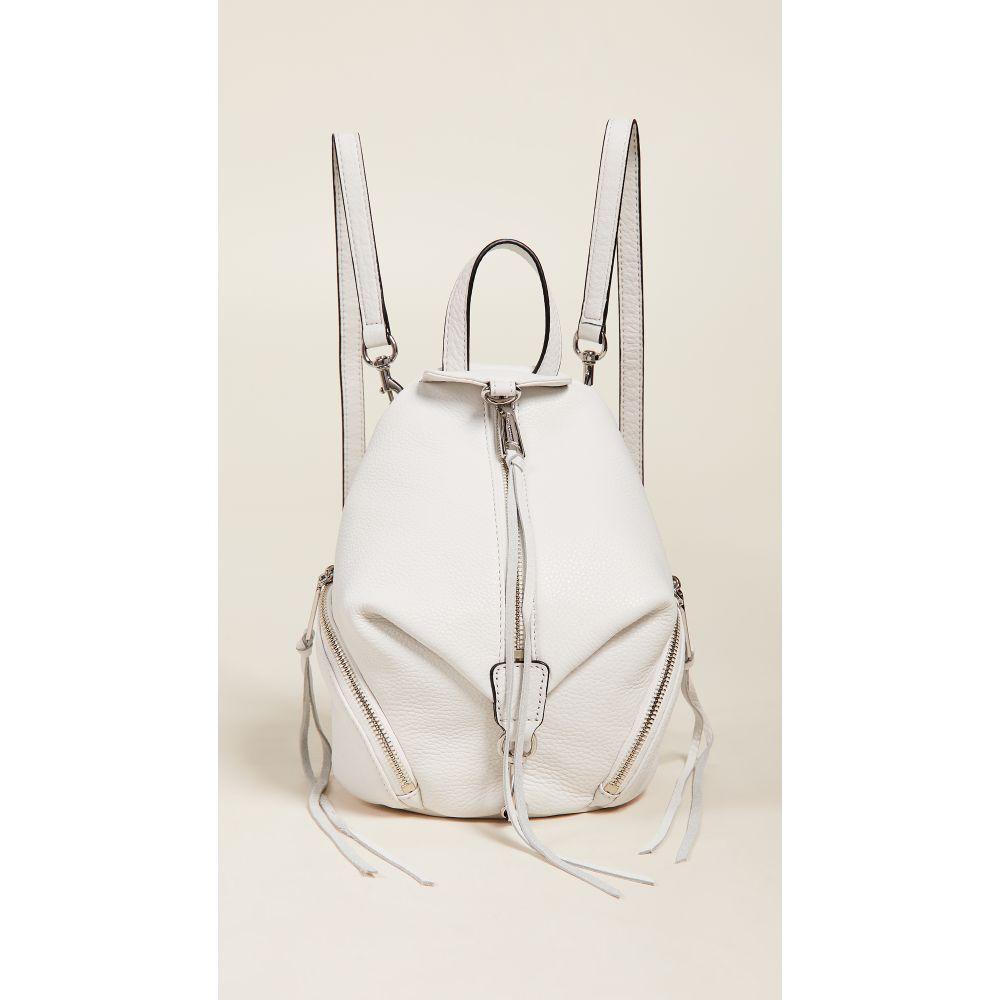レベッカ ミンコフ Rebecca Minkoff レディース バッグ バックパック・リュック【Convertible Mini Julian Backpack】Optic White