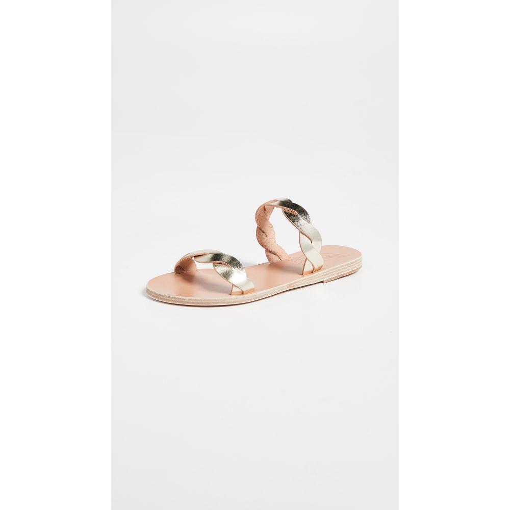 78858b3e8f2c エンシェント グリーク サンダルズ Ancient Greek Sandals レディース シューズ・靴 サンダル・ミュール【Skiriani  Slides】Platinum オンライン 2016AW
