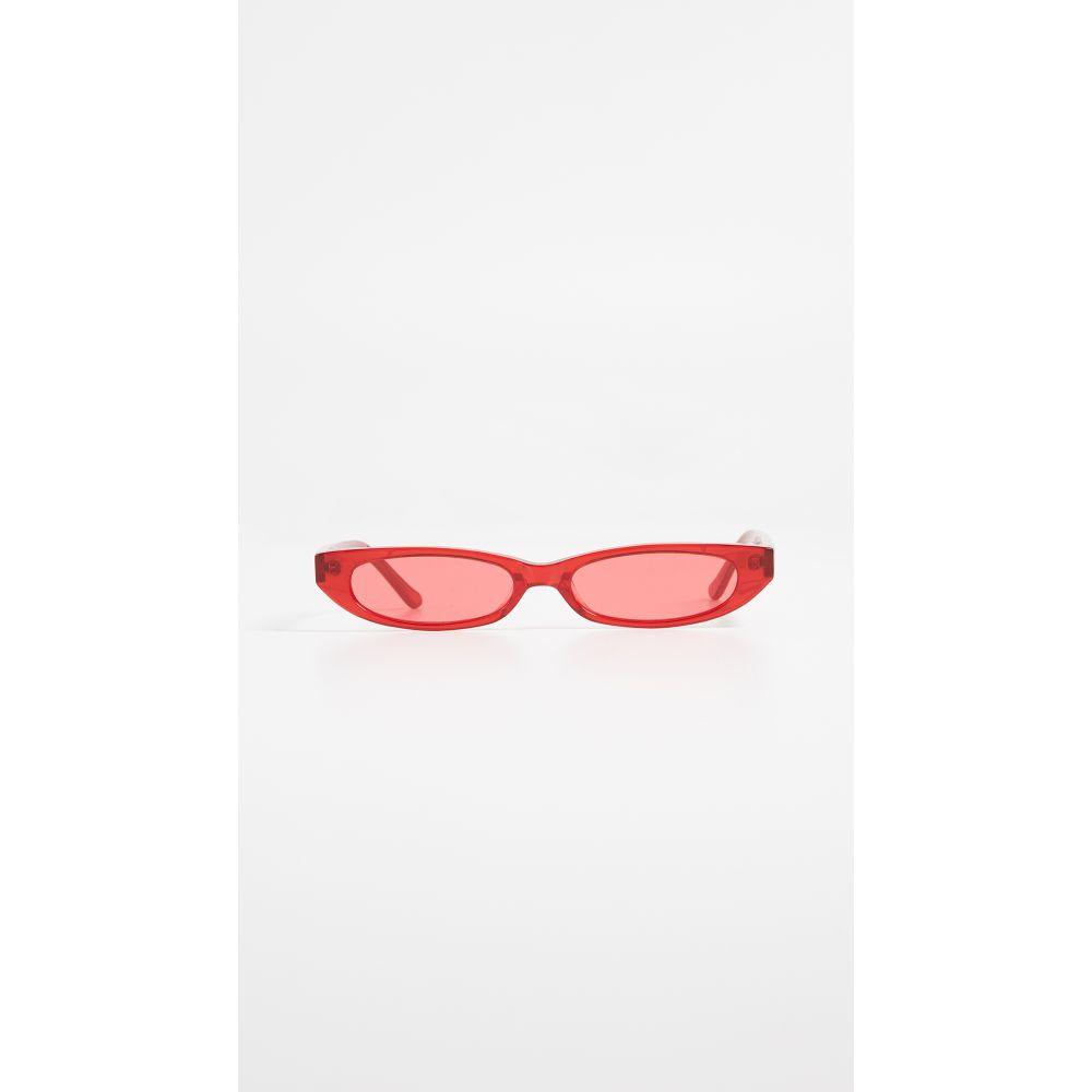 ロベリ&フラウド Roberi & Fraud レディース メガネ・サングラス【Frances Sunglasses】Red