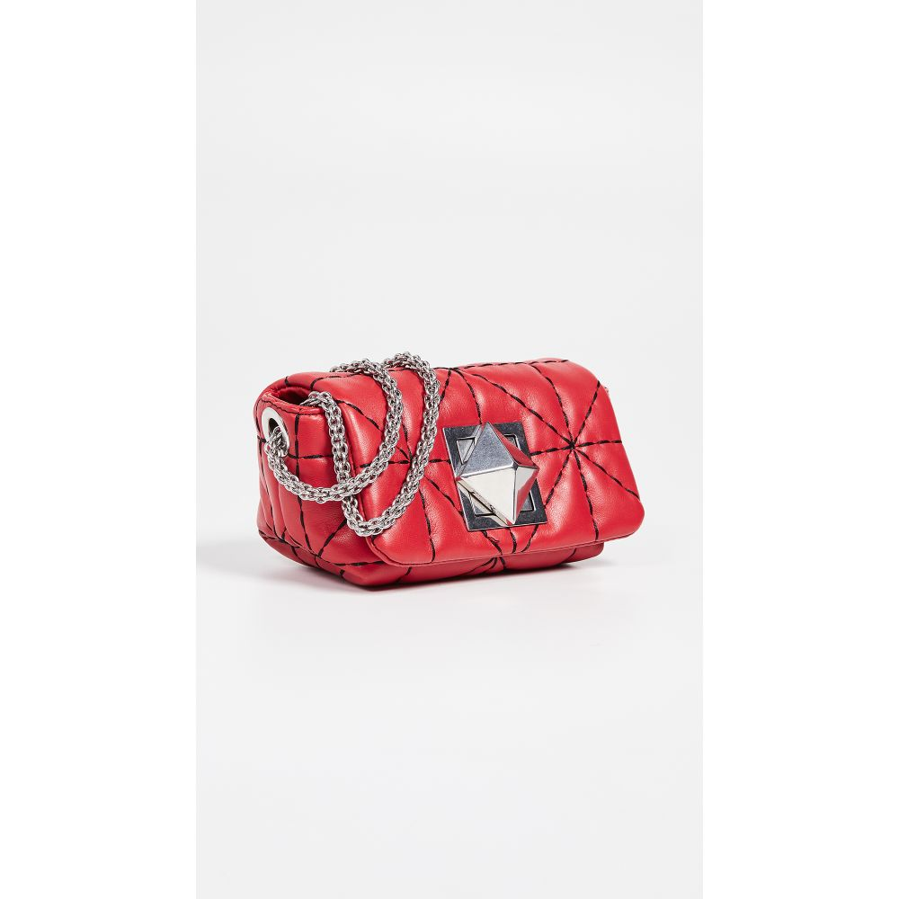 ソニア リキエル Sonia Rykiel レディース バッグ ショルダーバッグ【Quilted Crossbody Bag】Rouge/Noir