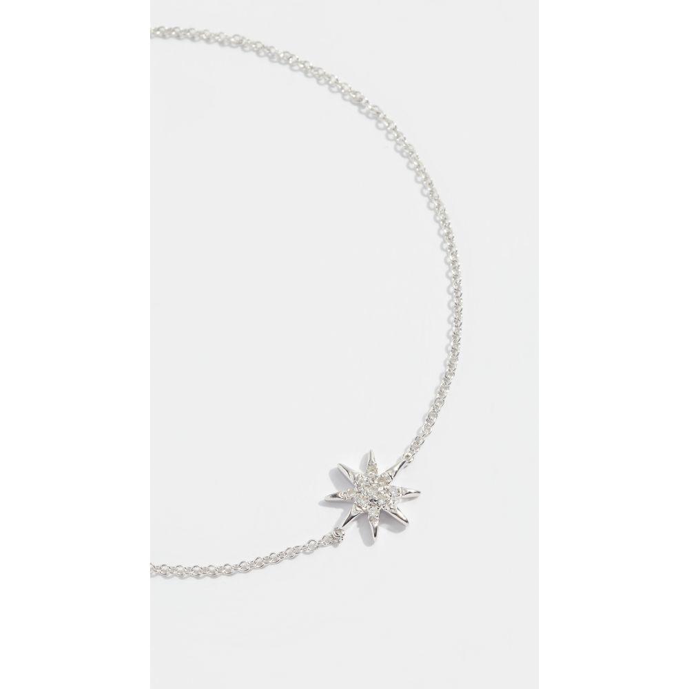 アディナ レイター Adina Reyter レディース ジュエリー・アクセサリー ブレスレット【Solid Pave Starburst Bracelet】Sterling Silver