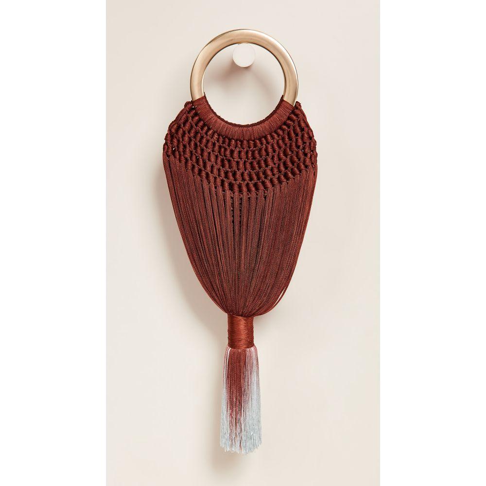 カルト ガイア Cult Gaia レディース バッグ ハンドバッグ【Small Angelou Tassel Bag】Terracotta
