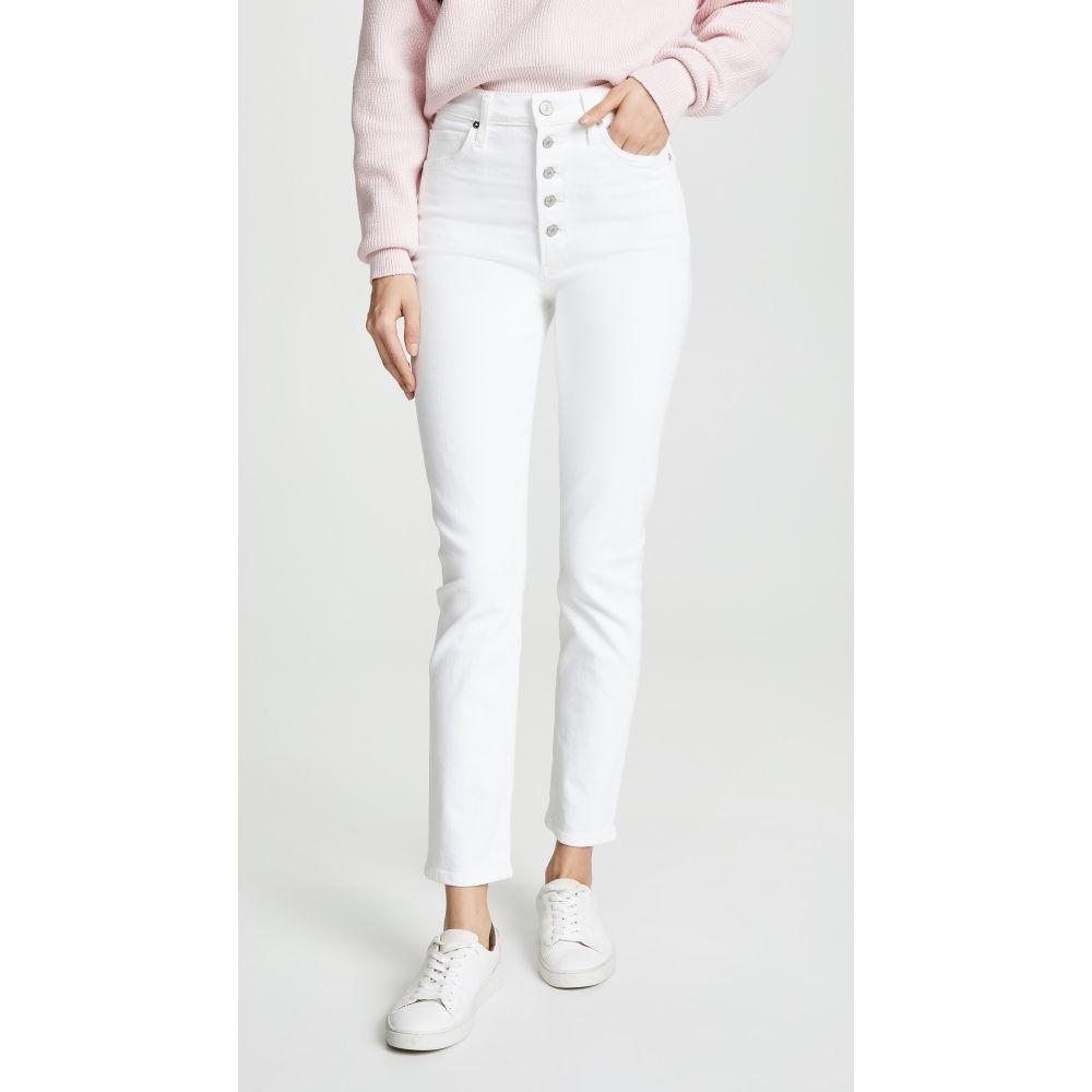 シチズン オブ ヒューマニティ Citizens of Humanity レディース ボトムス・パンツ ジーンズ・デニム【Olivia Exposed Fly High Rise Slim Ankle Jeans】Unveil
