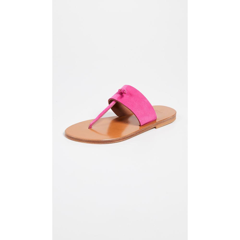 カー ジャック K. Jacques レディース シューズ・靴 サンダル・ミュール【Shambala Thong Sandals】Velours Framboise
