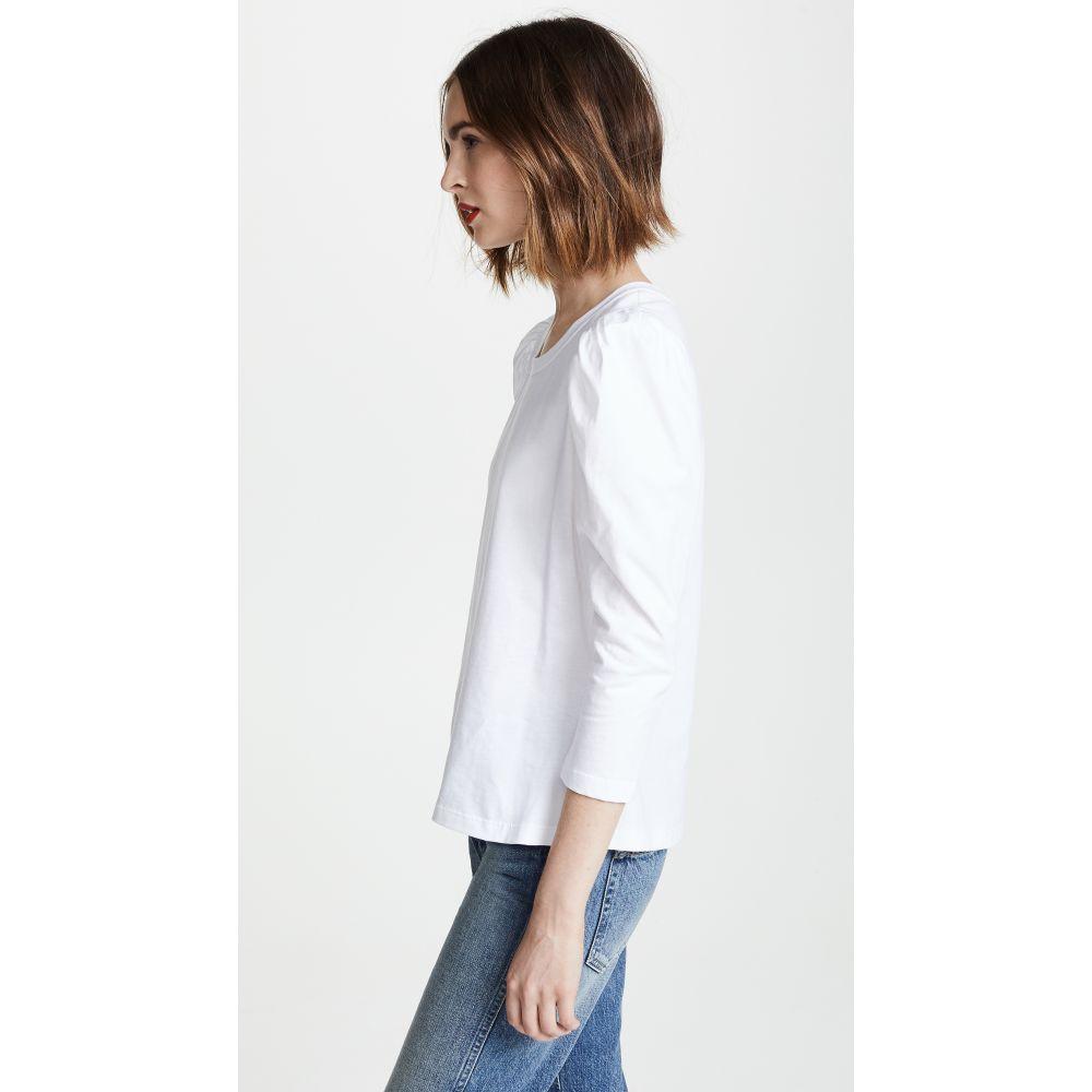 エーエルシー A L Cレディース トップス 長袖Tシャツ Karlie Tee Whiteq3jAcL5RS4