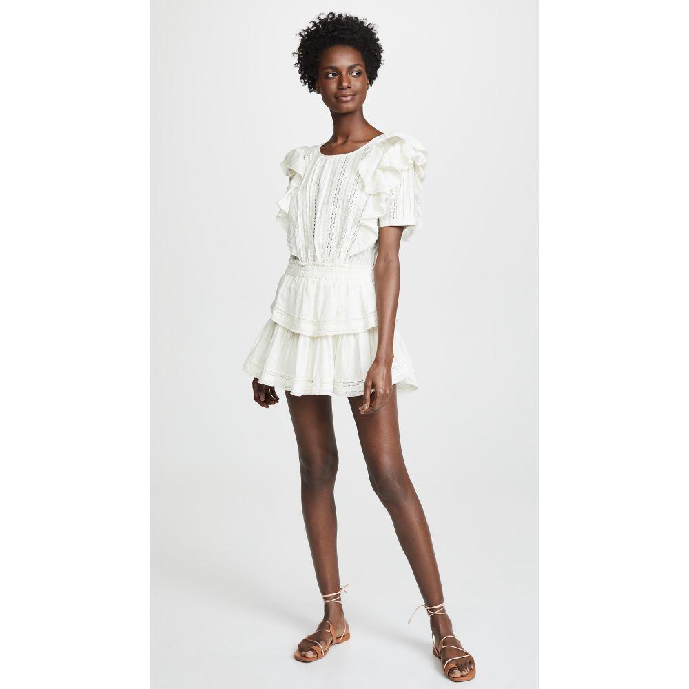 ラブシャックファンシー LOVESHACKFANCY レディース 水着・ビーチウェア ビーチウェア【Natasha Dress】White