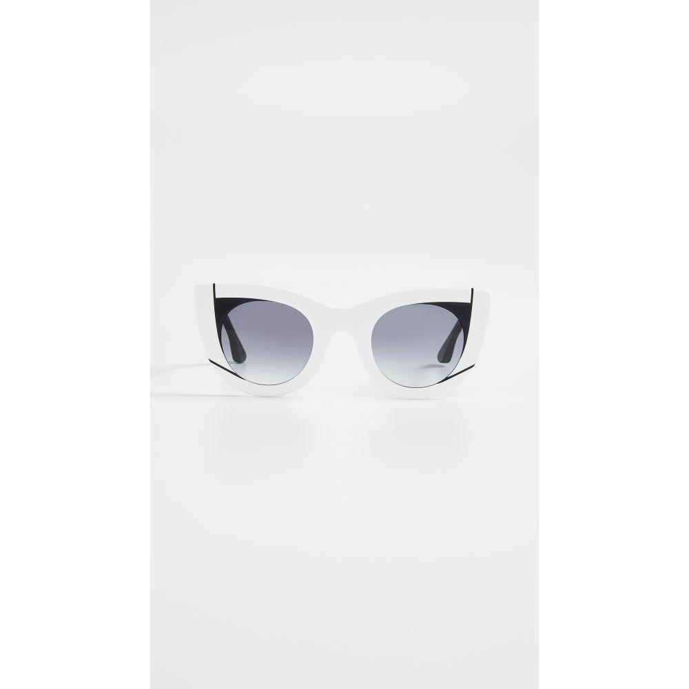 ティエリー ラスリー Thierry Lasry レディース メガネ・サングラス【Wavy Sunglasses】White/Blue